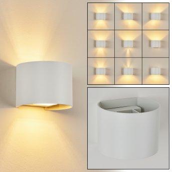Badajoz Wall Light LED white, 1-light source