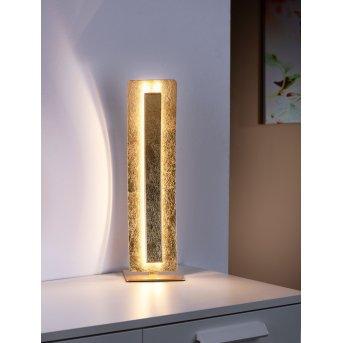 Paul Neuhaus NEVIS table lamp LED gold, 1-light source