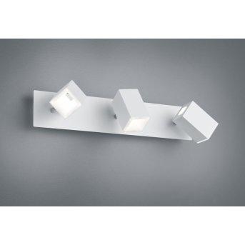 Trio LAGOS Wall Light LED matt nickel, 3-light sources