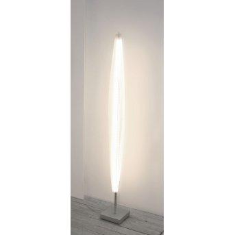 Escale STRATOS floor lamp LED matt nickel, 1-light source