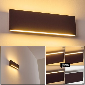 OBION Wall Light LED rust-coloured, 2-light sources