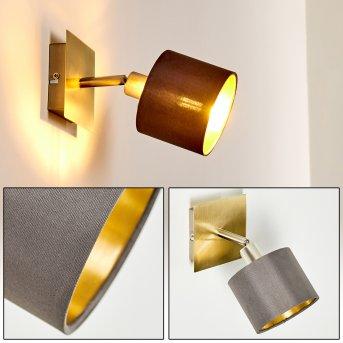 TIBRO Wall Light matt nickel, 1-light source