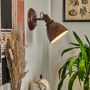 KOPPOM wall light rust-coloured, 1-light source