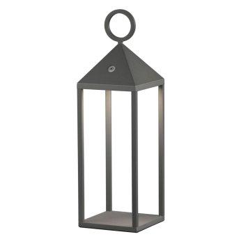 Lantern Mantra ASTUN LED grey, 1-light source, Remote control