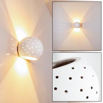 HERCULANO Wall Light white, 1-light source