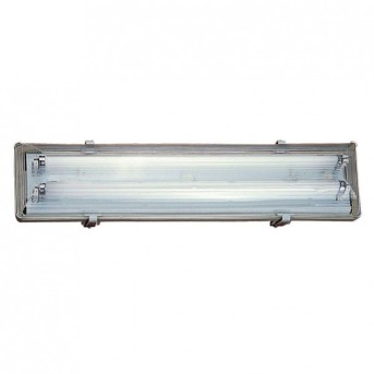Nordlux WORKS under cabinet light silver, 2-light sources