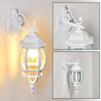 LENTUA outdoor wall light white, 1-light source