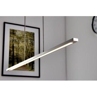 Masterlight Real 2 LED pendant light matt nickel, stainless steel, 1-light source