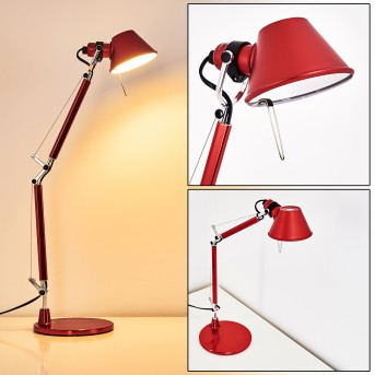 Artemide TOLOMEO MICRO Table Lamp red, 1-light source