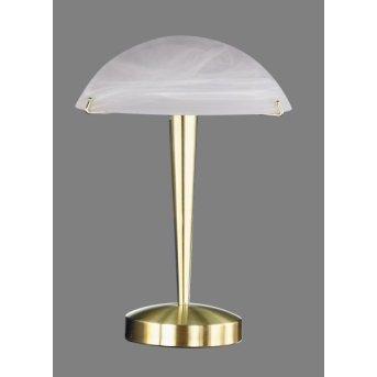 Trio 5925 table lamp brass, 1-light source