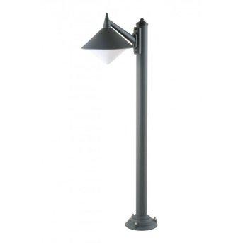 Lcd Lengenfeld floor lamp black, 1-light source
