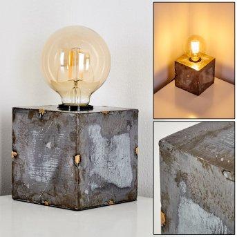 SÜDERHAFF Table Lamp grey, 1-light source