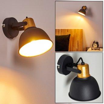 Wall Light Blackburn black, 1-light source