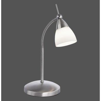 Paul Neuhaus PINO table lamp LED stainless steel, 1-light source
