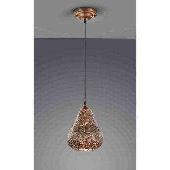 Trio JASMIN hanging light copper, 1-light source