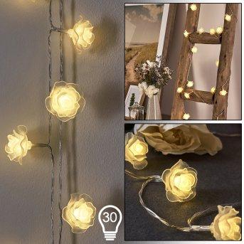 SONDRIO rope lights LED, 30-light sources