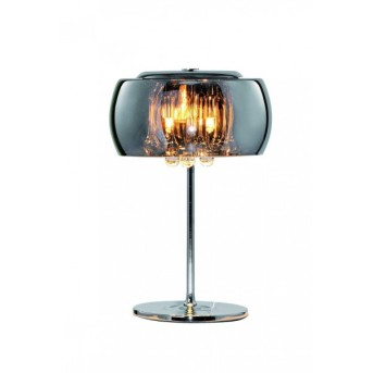 Sorpetaler Vapore table lamp chrome, 3-light sources
