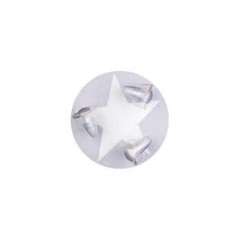Waldi STARDEL Ceiling light grey, white, 3-light sources