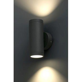 Faro Cobo wall light LED anthracite, 1-light source