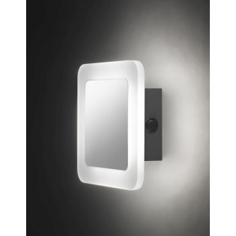 Wofi IMPULS wall light LED chrome, 1-light source