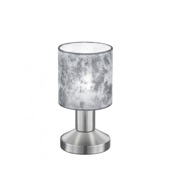 Trio GARDA table lamp matt nickel, 1-light source