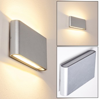 TINGLEV Outdoor Wall Light galvanized, 2-light sources