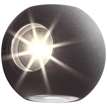 AEG Gus Outdoor Wall Light LED anthracite, 4-light sources