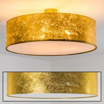 Foggia ceiling light gold, 3-light sources