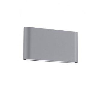 Trio THAMES II wall light LED titanium , 2-light sources