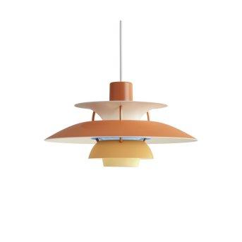 Louis Poulsen Pendant Light orange, 1-light source