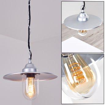 Mijas outdoor light silver, 1-light source