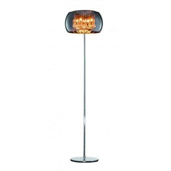 Sorpetaler Vapore floor lamp chrome, 4-light sources