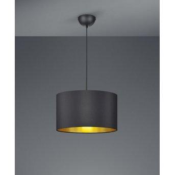 Trio HOSTEL Pendant Light black, 1-light source