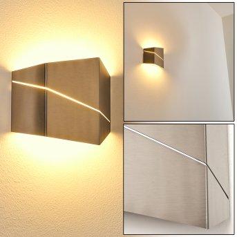 Fanas Wall Light LED matt nickel, 1-light source