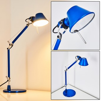 Artemide TOLOMEO MICRO Table Lamp blue, 1-light source