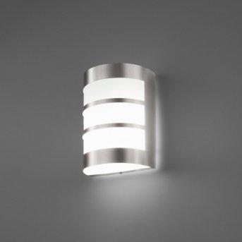 Faro Cela outdoor wall light matt nickel, 1-light source