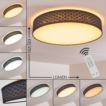 TEMUKA Ceiling light LED white, 1-light source, Remote control
