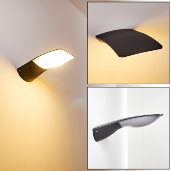 Outdoor Wall Light Obsidian LED anthracite, 1-light source