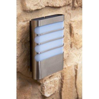 Philips myGarden RACCOON wall light LED stainless steel, 1-light source