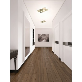 Grossmann CREO Wall and Ceiling Light LED brass, 2-light sources
