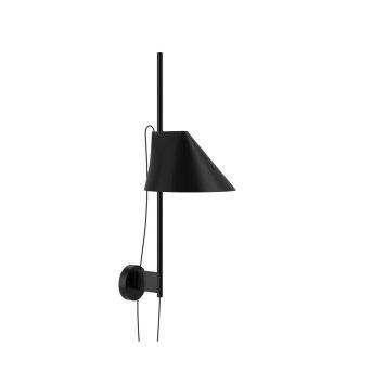 Louis Poulsen YUH Wall Light LED black, 1-light source