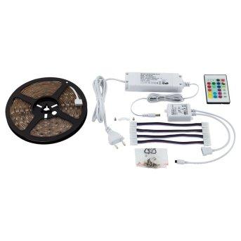 Eglo LED STRIPES-FLEX Lighstrip transparent, clear, 1-light source, Remote control, Colour changer