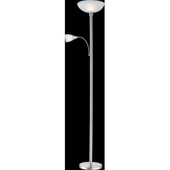 Globo BLADE Floor Lamp LED matt nickel, 2-light sources