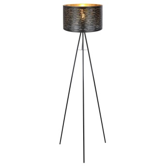 Floor Lamp Globo TUNNO black, 1-light source