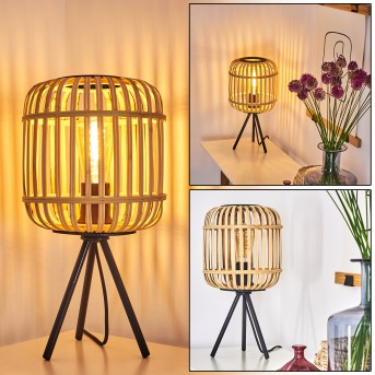 SUKHOTHAI Table lamp black, 1-light source