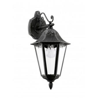 Eglo NAVEDO outdoor wall light black, 1-light source