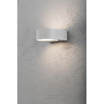 Konstsmide Teramo wall light grey, 1-light source