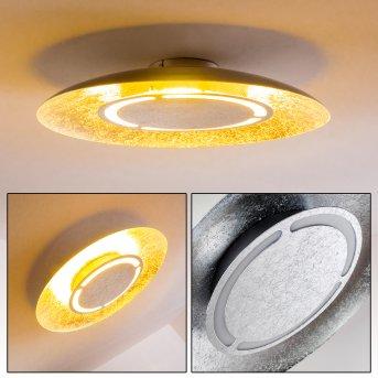 Slatten Ceiling Light LED silver, 1-light source