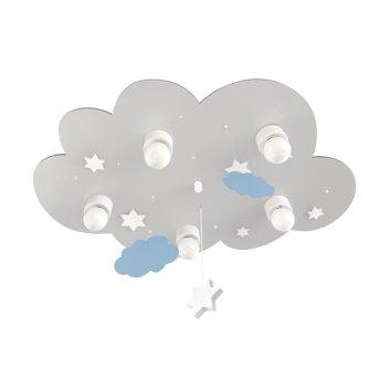 Waldi CLOUDI Ceiling light grey, white, 5-light sources