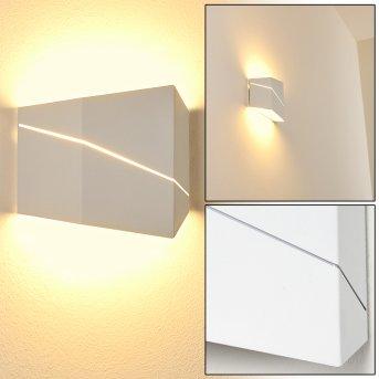 Fanas Wall Light LED white, 1-light source